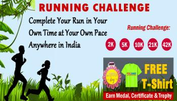 June RUN Challenge 2019 GET Free T-shirt