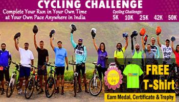 June Cycling Challenge 2019 and GET Free T-shirt