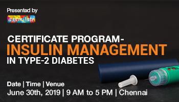 Workshop on Insulin Management in Type 2 Diabetes-Chennai