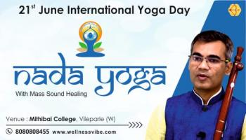 International Yoga Day Event | Nada Yoga By Rivesh Vade