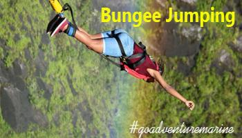 Bungee Jumping In Goa at Anjuna Beach