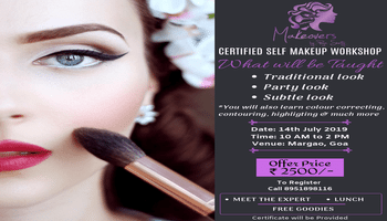Certified Self Makeup Workshop