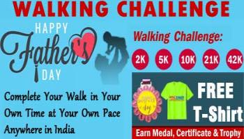 Fathers Day Walk Challenge 2019 and GET Free T-shirt