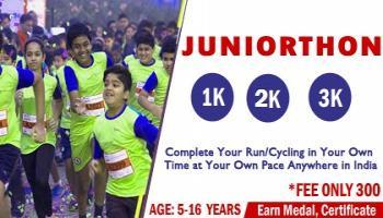 Juniorthon-run-walk 1K 2K 3K All over India