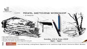 Sketching workshop - all you need to know as beginner by Pragyan Kranti