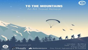 TO THE MOUNTAINS - AN ART TRAVEL RETREAT