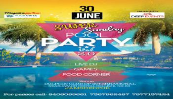 Super Sunday Pool party vol-2