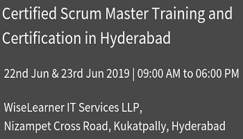 Best Scrum Master Training and Certification in Hyderabad with well experienced trainers