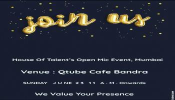 House Of Talents Open Mic Event
