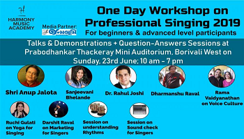 Workshop on Art of Singing