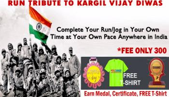 Run for Kargil Vijay Diwas