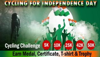 Cycling for Independence Day