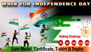Walk for Independence Day