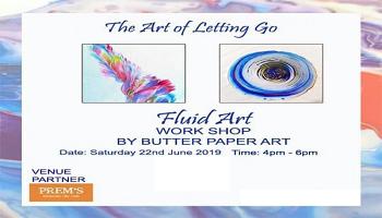 The Art of Letting Go - Fluid Art Workshop