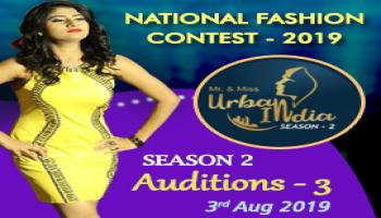 Mr and Miss Urban India 2019  Auditions - 3