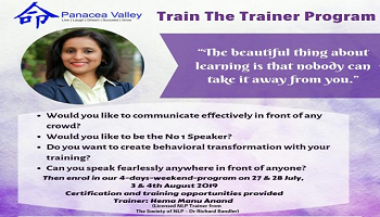 Train The Trainer to become a Soft Skills Trainer - Chennai