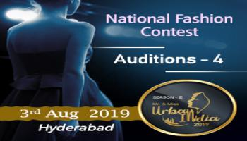 Mr and Miss Urban India 2019  Auditions - 4