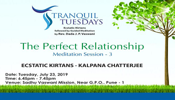 Relax yourself at Tranquil Tuesdays