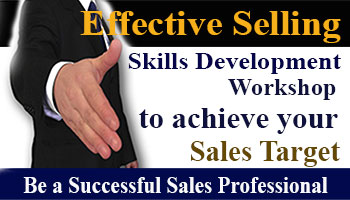 Selling Skills Skills Development Workshop to achieve sales target