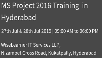 MS PROJECT 2016 Training Program with trained trainers