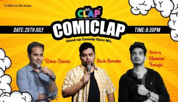 ComiClap - Stand up Comedy Open Mic