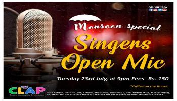 Singers Open Mic