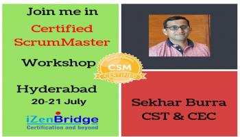 Certified Scrum Master Training in Hyderabad