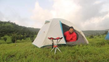 Weekend camping getaway @ nisargshala