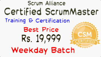 Certified ScrumMaster Training - Certification Bengaluru 22-23 August 2019