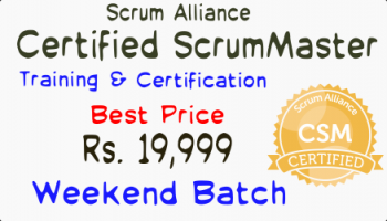 Certified ScrumMaster Training - Certification Bengaluru 24-25 August 2019