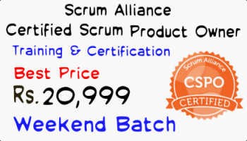Certified Scrum Product Owner Training - Certification Bengaluru 10-11 August 2019