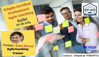 ICAgile Certified Professional Agile Coaching in Delhi (26-28 July)