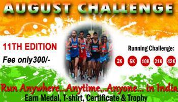 August Running Challenge