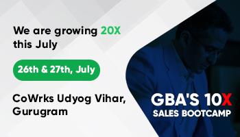 GBA Sales BootCamp, Gurgaon
