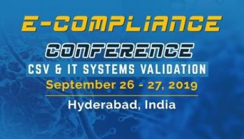 e-COMPLIANCE CONFERENCE 2019 - CSV and IT Systems Validation