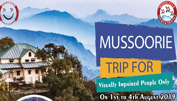 The Grand Flag-Off Ceremony of RSTT Trip to Mussoorie for the Visually Impaired
