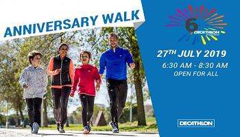 DECATHLON SHAMSHABAD ANNIVERSARY WALK 5KM