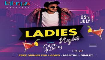 Ladies Night Feat.  DJ Calvin Anthony | Thu. 25th July