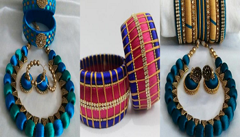 Hands on Silk Thread Jewellery Making Workshop In Chennai
