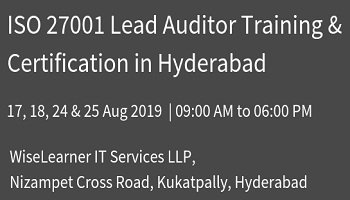 Best Training and Certification for ISO 27001 Lead Auditor with experienced trainers copy