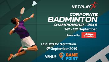 Netplay Corporate Badminton Championship powered by Li- Ning