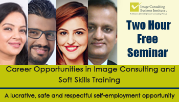 ICBI Seminar on Career Opportunities in Image Consulting and Soft Skills Training (St Marks Road, Bengaluru)