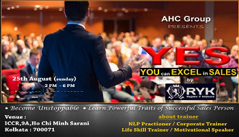 Y  E  S (You can Excel in Sales)