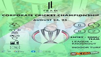 Corporate cricket championship 2019