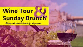 Wine Tour and Sunday Brunch - Independence day special