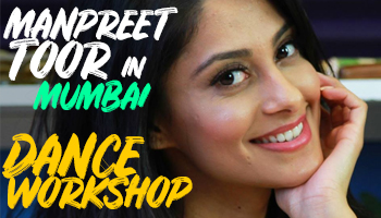 MUMBAI DANCE WORKSHOP with Manpreet Toor