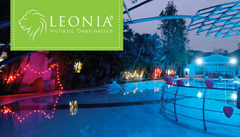 Poolside  Candle Light Dinner at Leonia