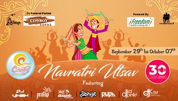 Navratri Utsav 2019 at Country Club