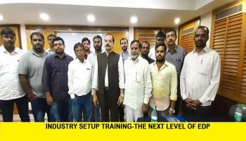 INDUSTRY SETUP TRAINING THE NEXT LEVEL OF EDP Vijayawada 21 9 2019