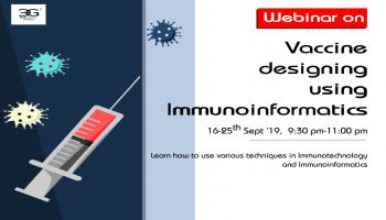 WEBINAR ON VACCINE DESIGNING USING IMMUNOINFORMATICS